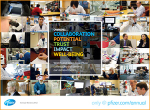 Pfizer Publishes 2012 Annual Review