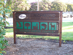 Environmental Efforts Recognized at Richmond Sherwood Site