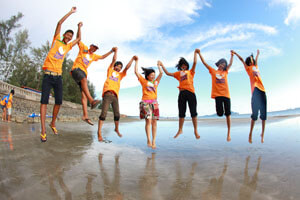 Camp Shows Pfizer Foundation's Commitment to Thai Youth