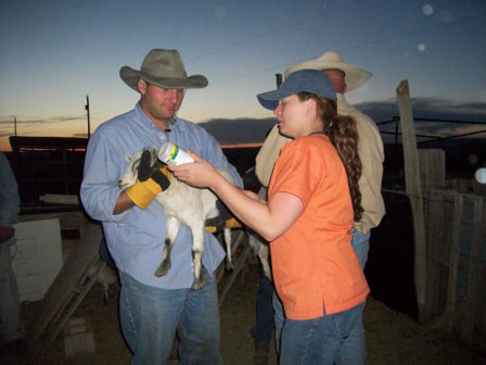 Colleague Brings Pfizer Animal Medications, Knowledge to Navajo Reservation