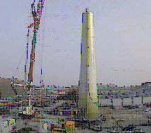 Towering Turbine Harnessing the Wind for Pfizer in Puurs
