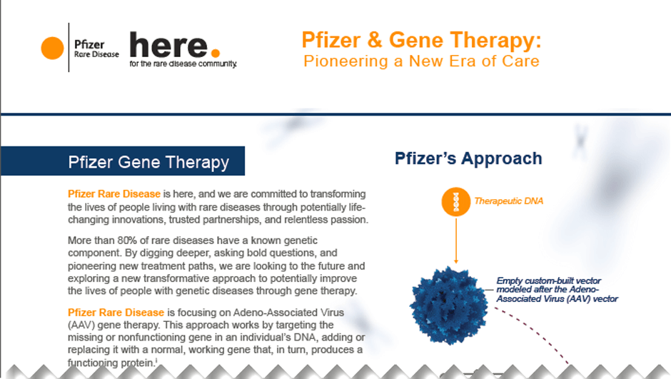 Gene Therapy Fact Sheet Image